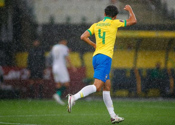 Zagueiro: Marquinhos, 27 anos - PSG (FRA).