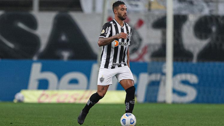 Zagueiro: Nathan Silva (Atlético-MG) - 13 votos.