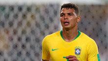 Thiago Silva apoia Neymar e admite jogo ruim contra a Colômbia
