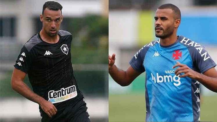 ZAGUEIROS: O Vasco contratou Ernando, e o Botafogo contratou Gilvan e Carli.