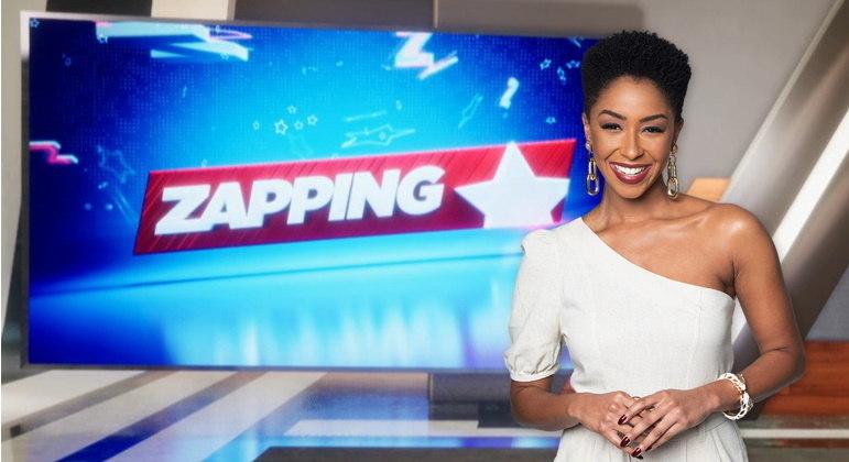 Mariana Bispo comanda o Zapping na Record News