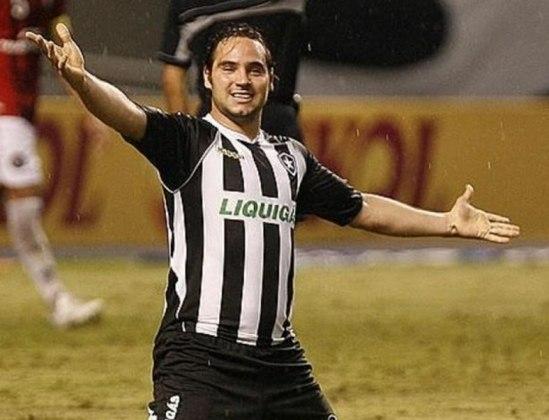 LEANDRO ZÁRATE - Outro gringo que decepcionou foi Leandro Zárate. O colombiano foi contratado pelo Botafogo em 2008, após ter sido artilheiro da segunda divisão do Campeonato Argentino, porém jamais correspondeu. Fez seis gols em sua passagem