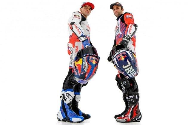 Zarco parte para seu segundo ano com a marca, enquanto Martín estreia na MotoGP