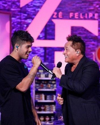 Zé Felipe, 22 anosO filho número cinco do sertanejo segue os passos do pai, faz sucesso na música e tem uma legião de fãs (só nas redes sociais, são 7 milhões de seguidores). Você Mente, Tiro Certo, Medalha de Prata são alguns dos hits do cantor