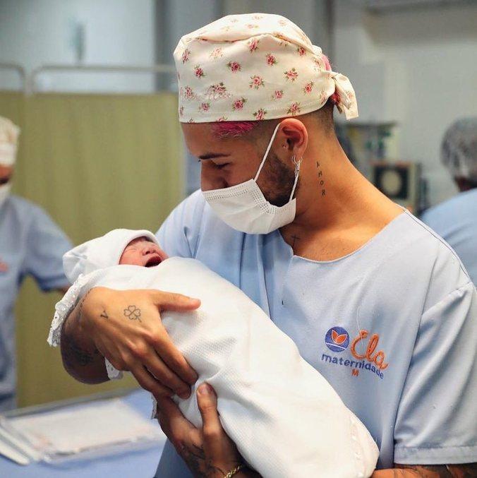 Maria Alice nasceu no domingo (30), em Goiânia, Goiás