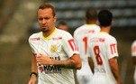 Zé Love: campeão da Copa Libertadores com o Santos em 2011, o atacante Zé Eduardo jogará pelo Brasiliense em 2021.