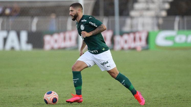 Zé Rafael - 16 jogos - 885 minutos em campo - 1 gol - 1 assistência - 28 desarmes - 14 dribles
