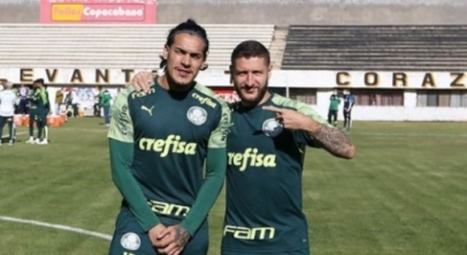Zé Rafael e Gustavo Gómez