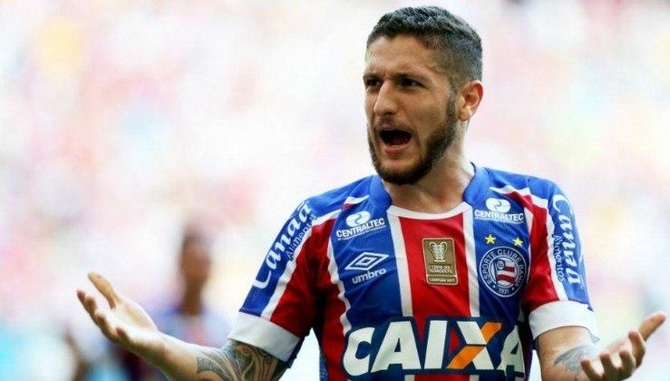 Zé Rafael - Posição: meia - Time em que jogou: Bahia