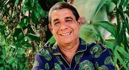 Zeca Pagodinho estava internado desde sábado (14)