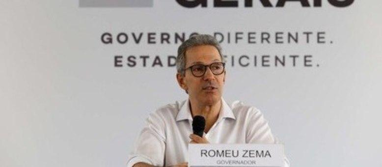 Zema pediu ajuda financeira ao Governo Federal