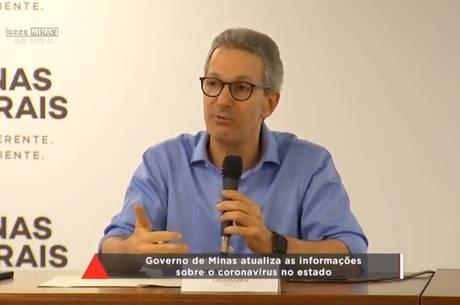 O governador participou de coletiva de imprensa nessa sexta (27)