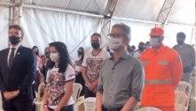 Zema participa de homenagem às vítimas da tragédia de Brumadinho