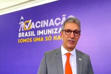 Zema foi a Brasília para lançamento do plano