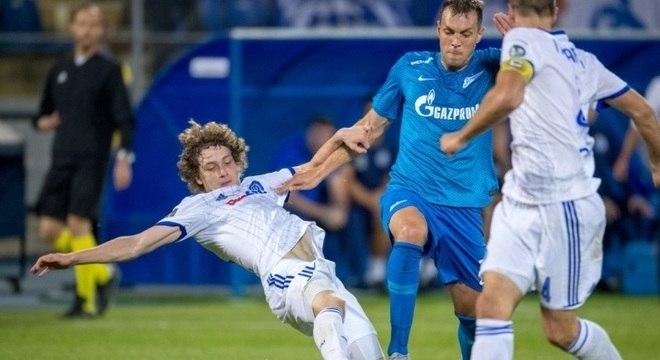 Zenit goleou o Dínamo Minsk por 8 a 1 pela Liga Europa