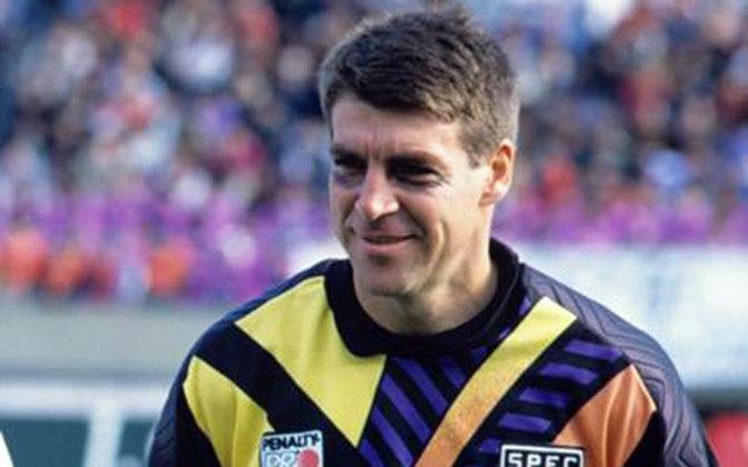 Zetti - Bicampeão do Mundial de Clubes pelo São Paulo, o goleiro tem seu nome gravado na história do time, com 432 jogos pelo Tricolor.