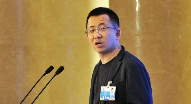 Zhang Yiming, nesta foto de 2018, é fundador e diretor executivo do ByteDance