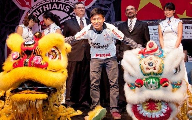 Zhizhao Chen (Corinthians) - Contratação inesperada feita pelo Corinthians em 2012, o chinês ajudou ao marketing do clube, porém quase não atuou pelo Timão.  Hoje defende o Guangzhou City, da China.
