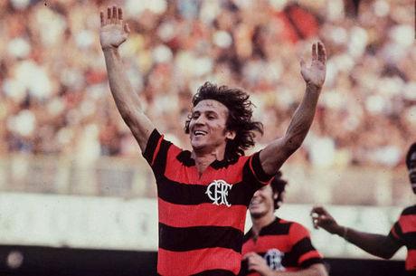 Zico fez história no Maracanã