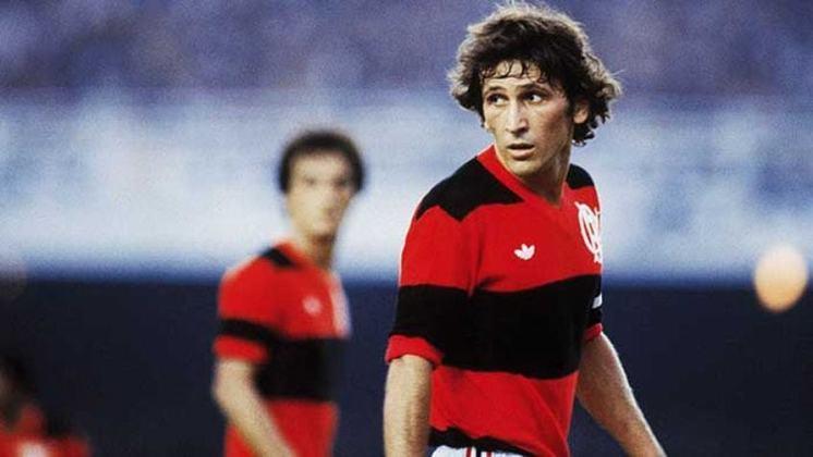 Zico - Maior ídolo do Flamengo, Zico é um dos diversos personagens da Seleção de 1982 que encantou o mundo mas não conseguiu o caneco naquela ocasião.