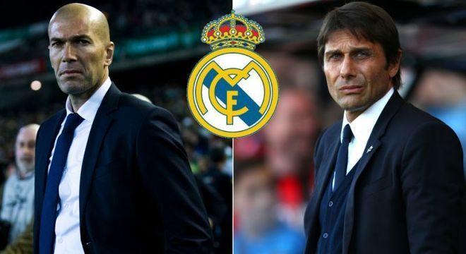 """Zinedine Zidane X Antonio Conte, ou Real X Inter, o grande cotejo da """"Champions"""""""