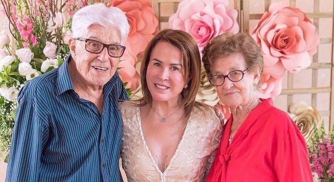 Zilu lamentou morte do pai nas redes sociais, neste domingo (8)