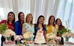 A influenciadora marcou presença na festa de aniversário de Rose, em 6 de setembro, nos Estados Unidos.