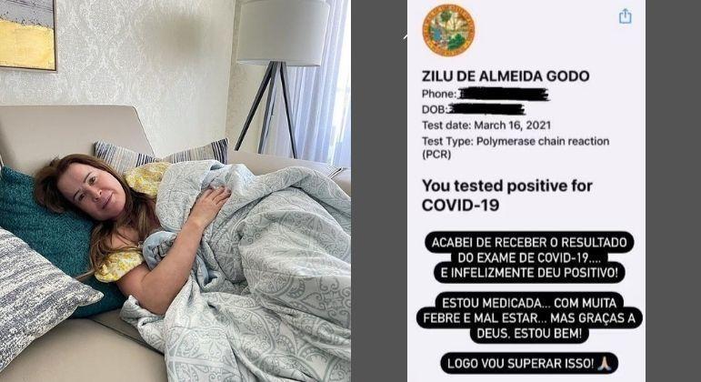 Zilu Godói confirma diagnóstico de covid-19