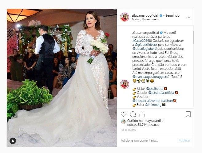 Mayra Cardi curtiu o post em que Zilu pede o namorado em casamento