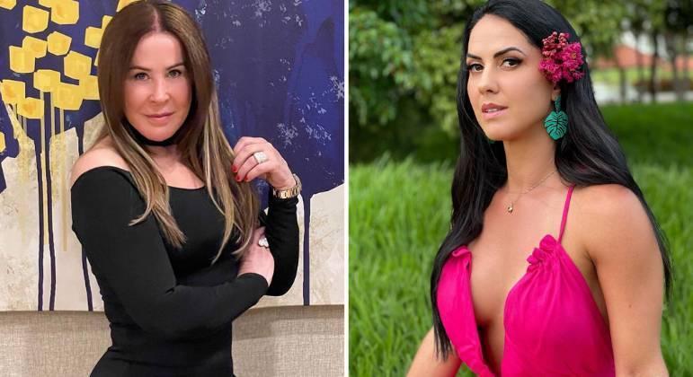 Zilu Godoi e Graciele Lacerda voltaram a trocar alfinetadas nas redes sociais