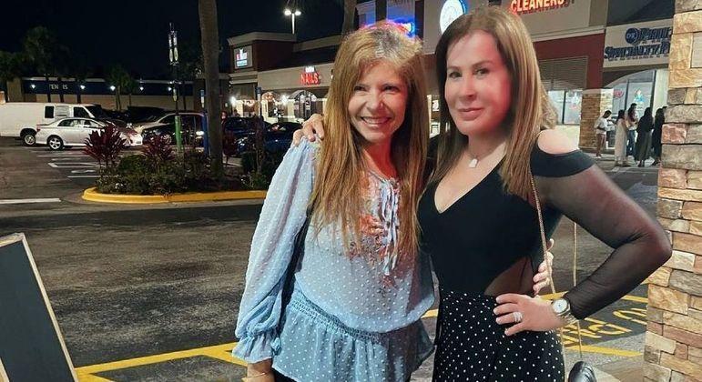 Encontro aconteceu em um estacionamento em Orlando, nos Estados Unidos