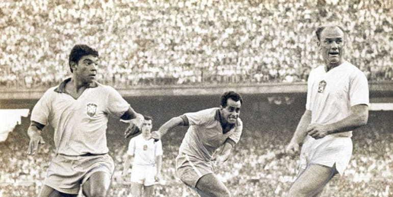 Zito: o eterno capitão do Santos marcou o segundo gol brasileiro na decisão contra a extida Tchecoslováquia, no estádio Nacional de Santiago, no Chile. Faleceu em 2015.