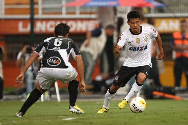Zizao - o meia chinês Zizao, que atuou pelo Corinthians entre 2012 e 2013, fazia parte de um projeto audacioso de marketing do alvinegro paulista. Sucesso fora de campo, o jogador de 31 anos fez somente cinco partidas pelo Timão e não encantou.