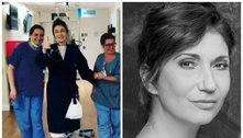 'Diretamente dos corredores da UTI', avisa Zizi Possi após cirurgia