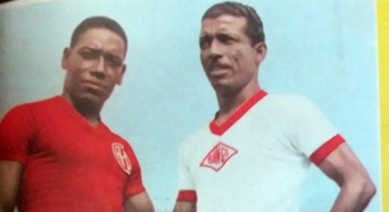 Zizinho também foi ídolo do Bangu, uma equipe de alto nível técnico nos anos 50 e 60
