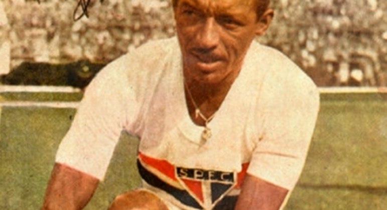 Zizinho, já veterano, foi campeão paulista pelo São Paulo