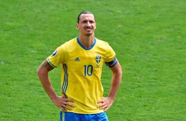 Zlatan Ibrahimovic (Suécia) - lesionado