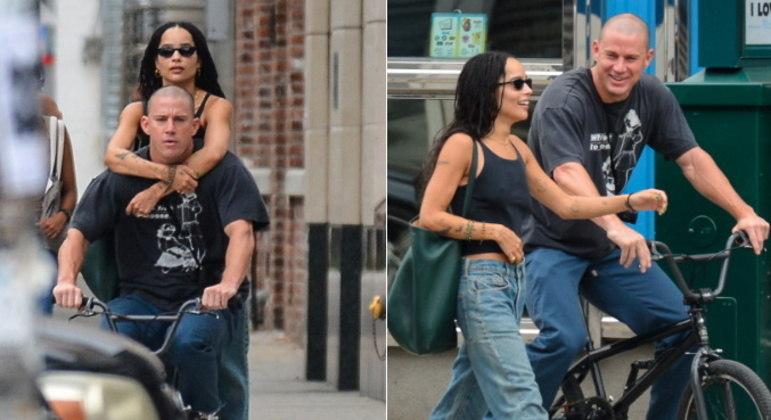 Os rumores de um affair entre Channing Tatum e Zoë Kravitz ganharam ainda mais força após os atores serem fotografados juntos durante um passeio por Nova York. Veja mais fotos