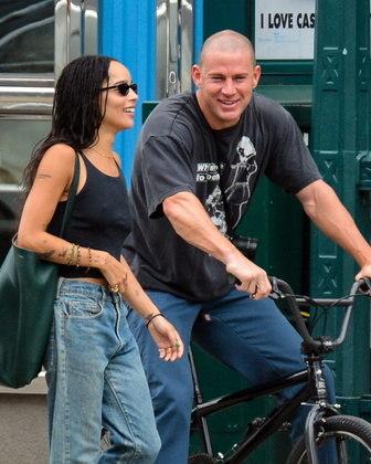 Channing Tatum vai estrelarPussy Island, filme que será deve marcar a estreia deZoë Kravitz como diretora
