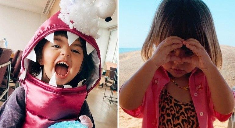 A pequena Zoe Sato esbanja carisma e coleciona momentos fofos nas redes sociais