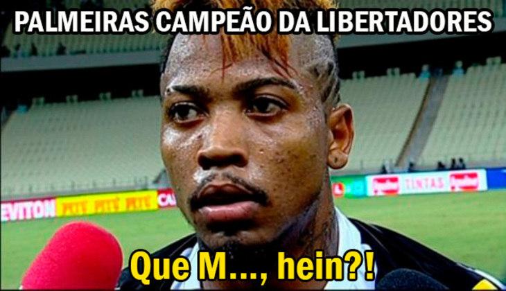 Zoeira liberada! Torcedores do Palmeiras tiram onda e postam memes após título da Libertadores da América