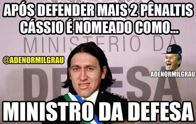 Zoeira Retrô: os memes da final do Paulistão entre Corinthians e Palmeiras, em 2018.