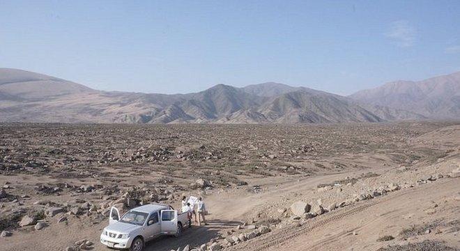 Nesta área sem assentamentos está prevista a construção da nova cidade