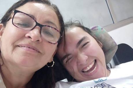 Marlene e Maria moram há 14 anos na Vila Missionária