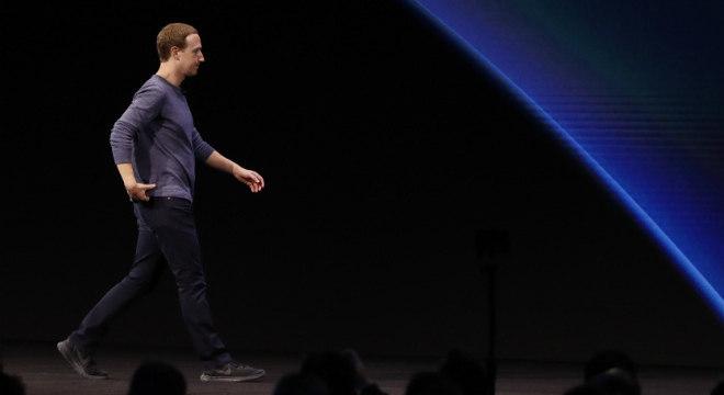 Presidente-executivo do Facebook, Mark Zuckerberg