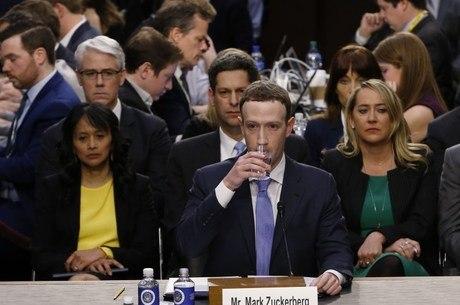 Zuckerberg foi questionado sobre censura política