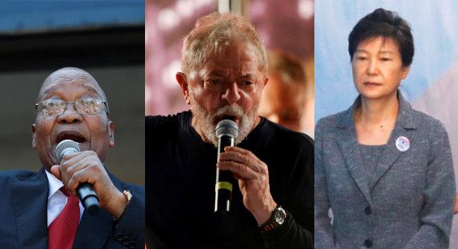 Jacob Zuma, Lula e Park Geun-hye: acusados por corrupção, os três líderes mundiais enfrentam dia-chave