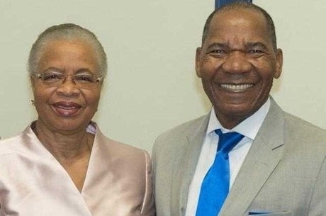Graça Machel e Dr. José Vicente, Reitor da Faculdade Zumbi dos Palmares